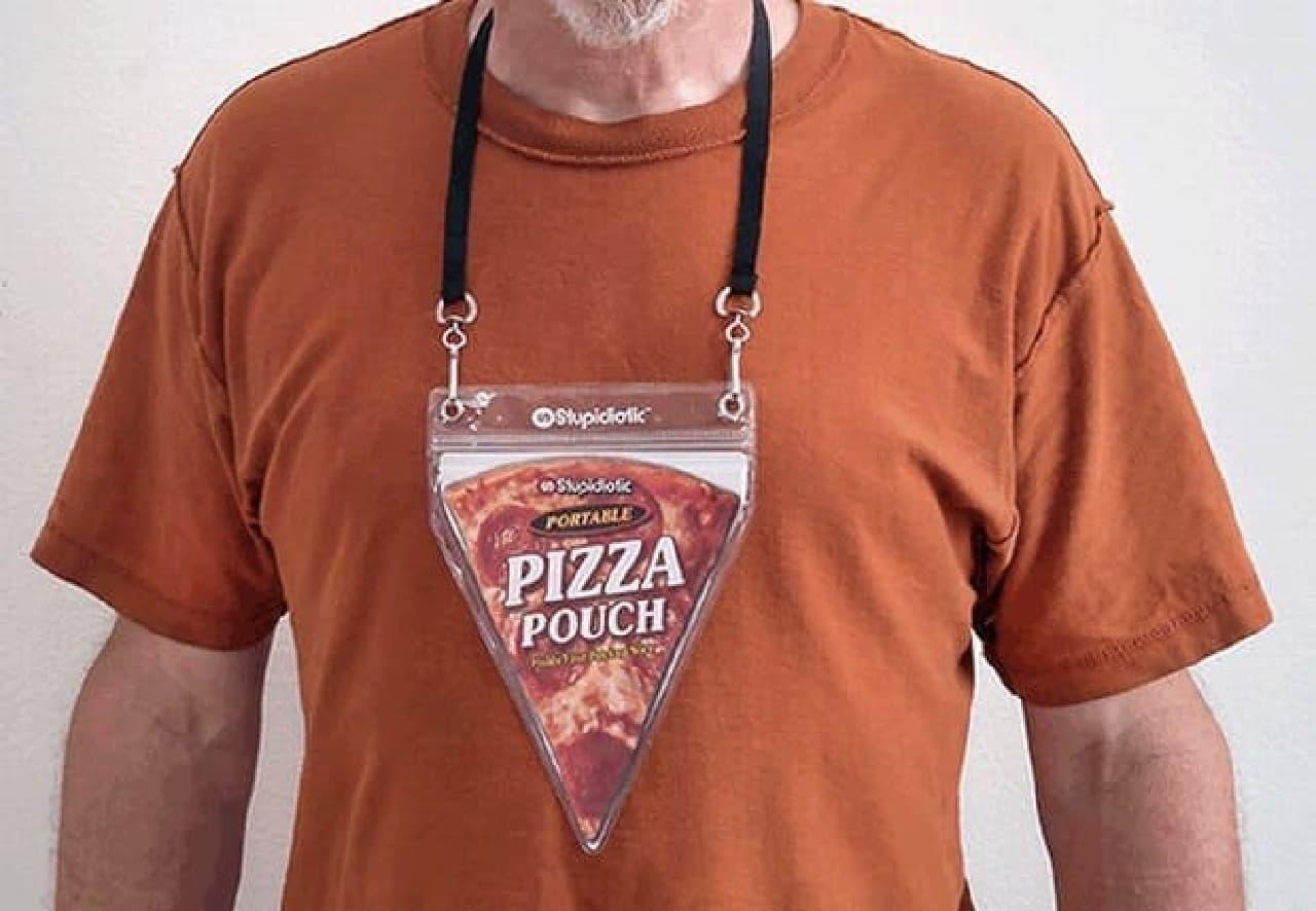 3角形なので、ピザの先端部分を保護できる