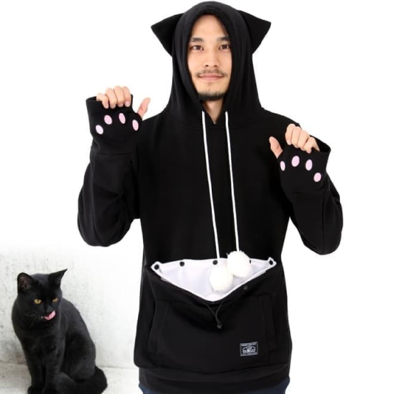 黒ネコになれる新色「ブラック」