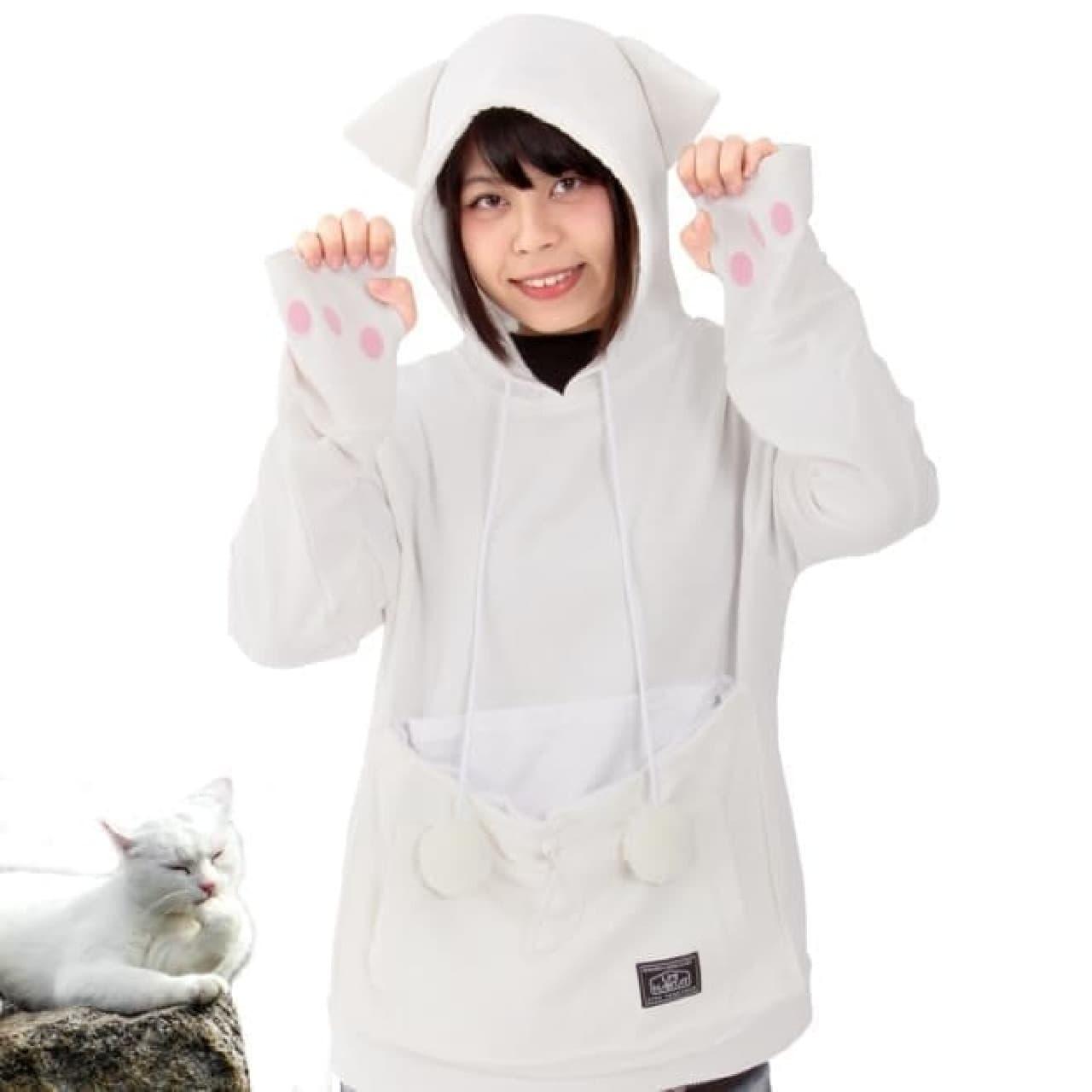 白ネコの「ホワイト」
