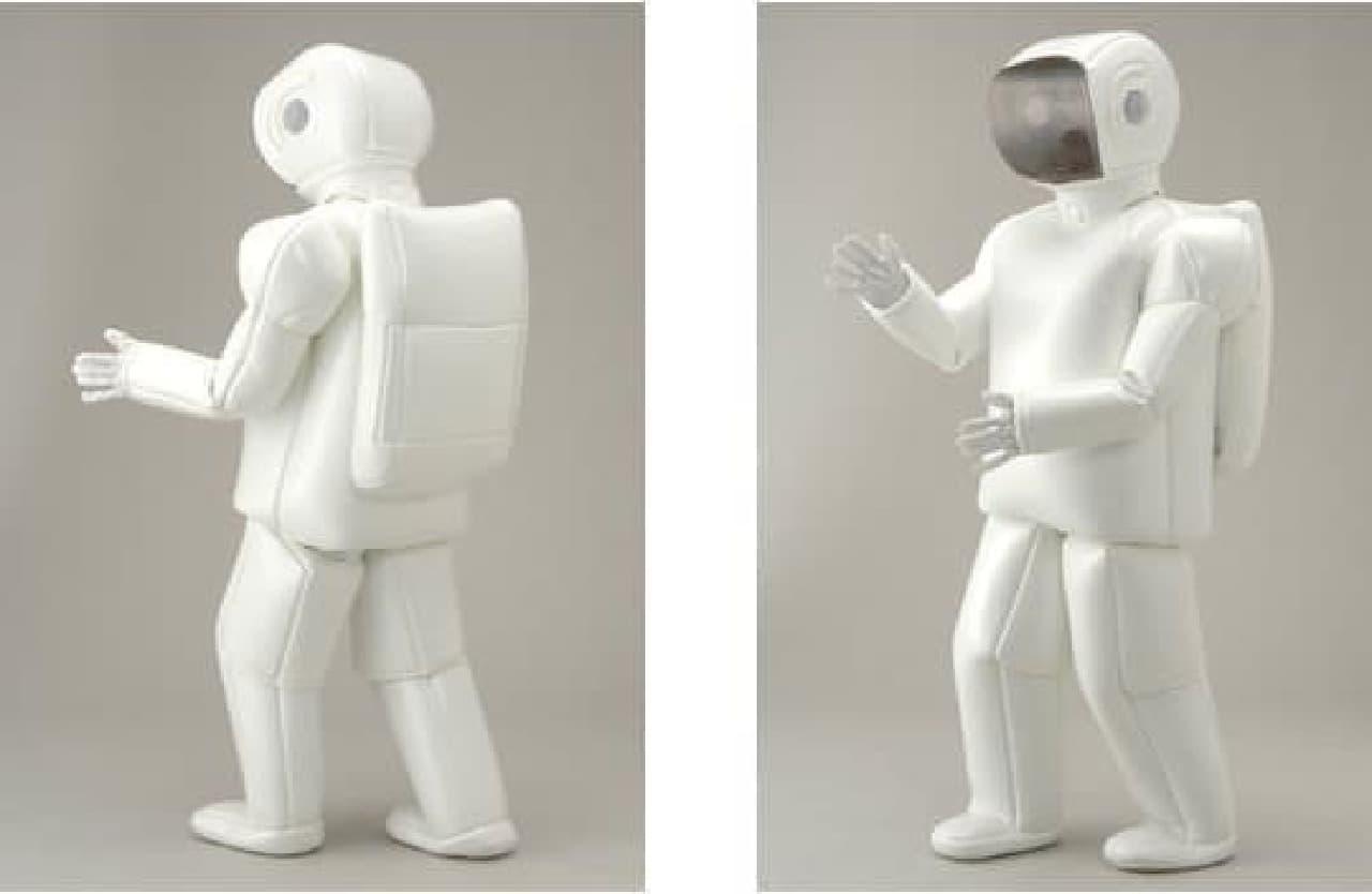 ホンダのASIMOになりきれるコスチュームスーツ  「ASIMO Robot Costume Suit」