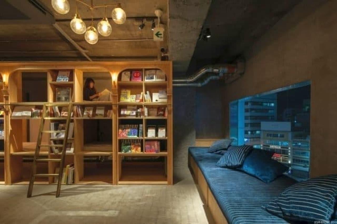 秘密基地みたいなベッドで好きなだけ読書を