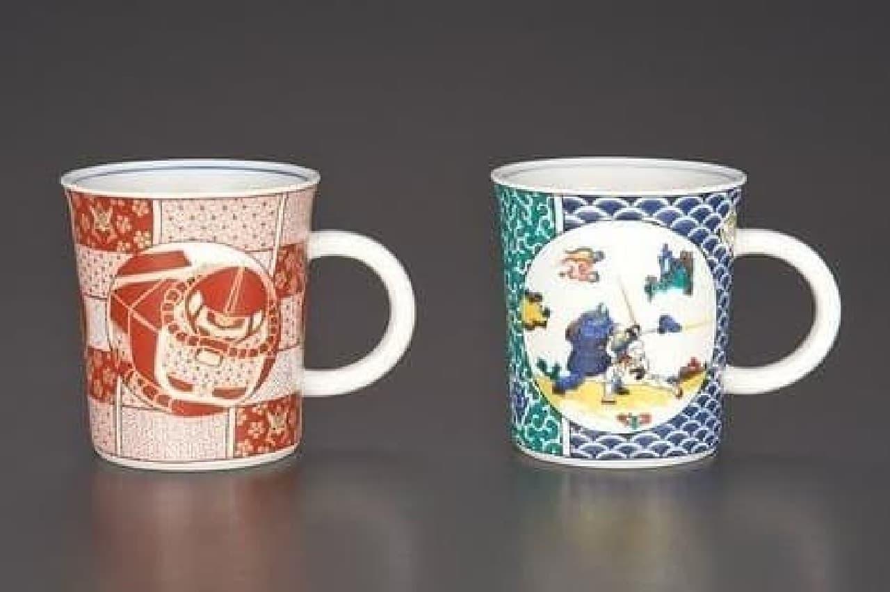 ガンダムマグカップ2個セット(5,616円)