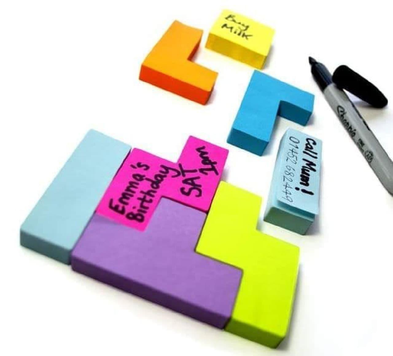 遊べる付箋「Block Notes」