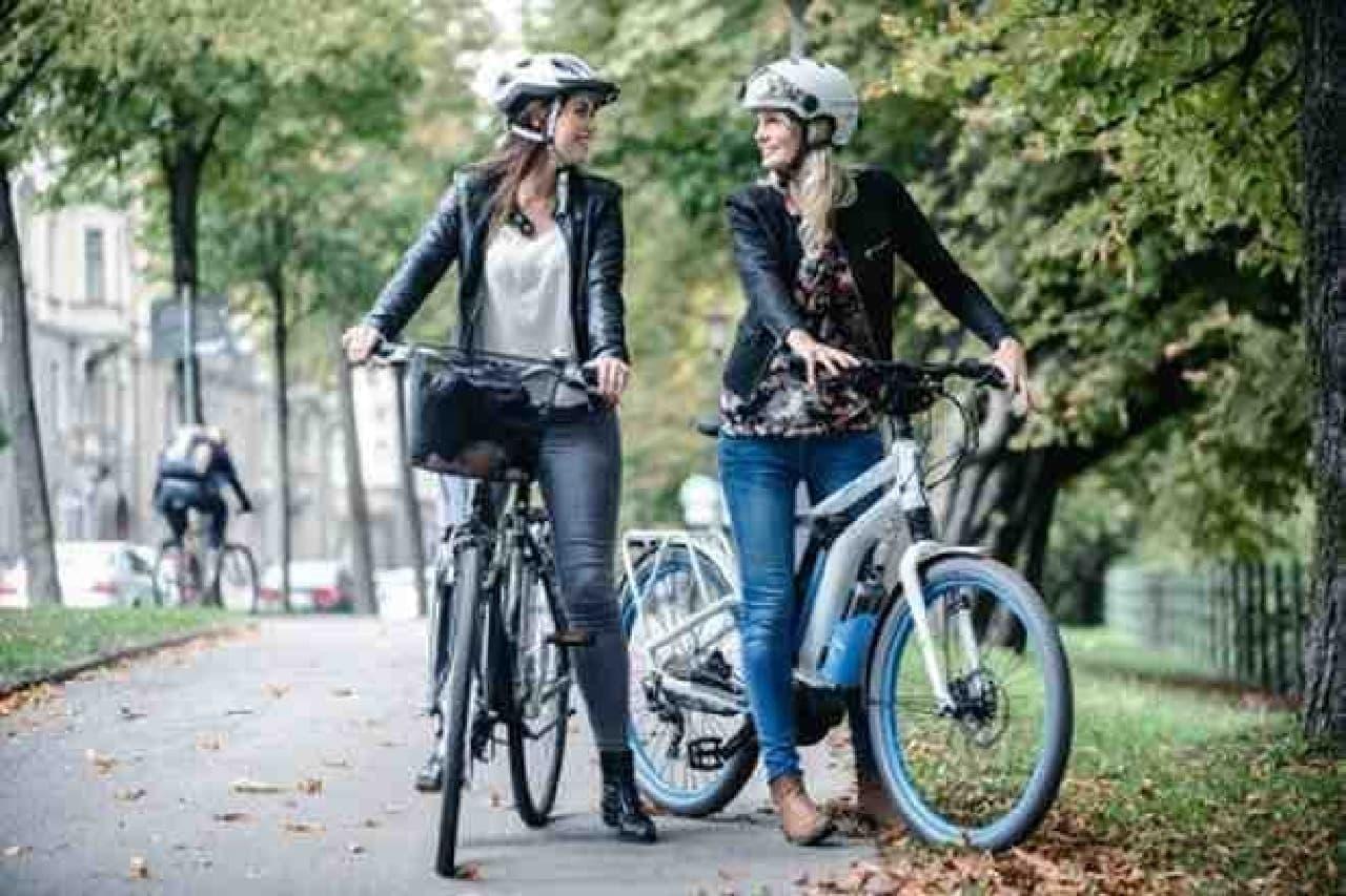 水素自転車が街を走る  そんな光景が当たり前になる?