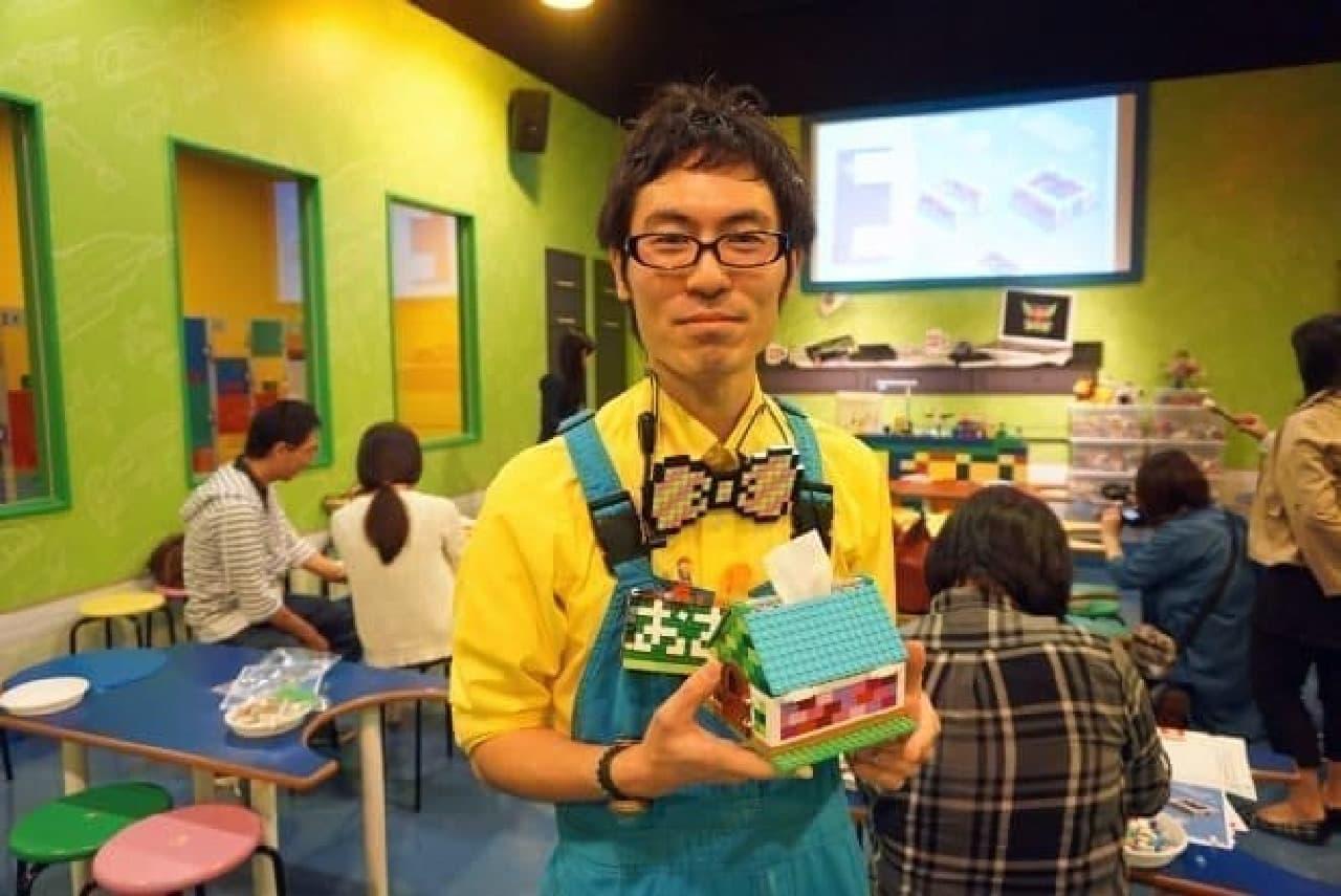 レゴランド・ディスカバリー・センター東京のマスター・ビルダー 大澤よしひろさん