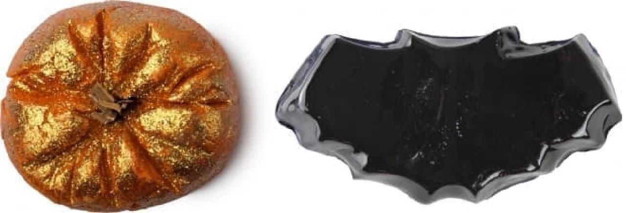 左:スパークリー パンプキン(690円)  右:ナイトウィング(750円)