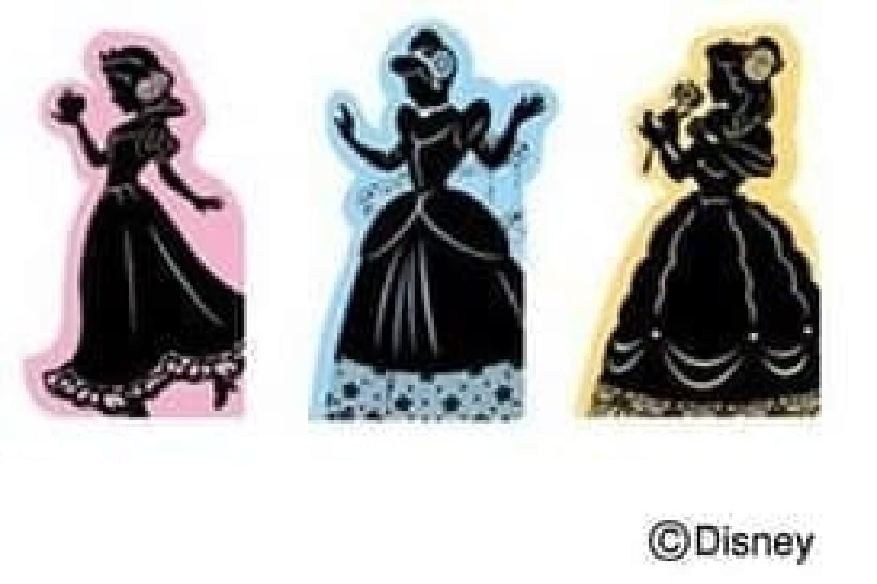プリンセスはシルエットで