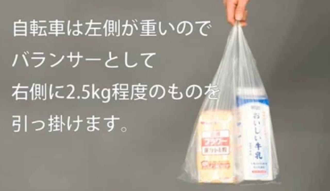 バランサーに牛乳と小麦粉を使用した例  バランサーとして使った後は、おしゃれにパンケーキでも焼きましょう!