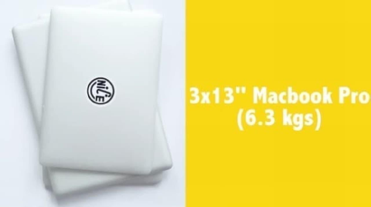 MacBook Proなら3台分