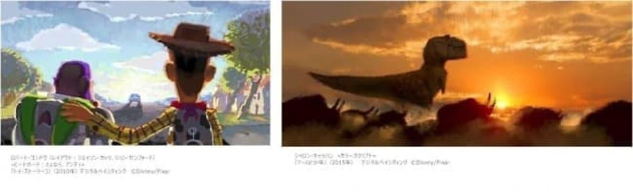 来春日本公開予定の最新作「アーロと少年」のアートワークも