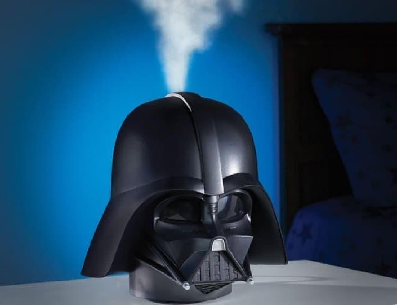 ダースベイダー型の卓上加湿器「The Darth Vader Humidifier」