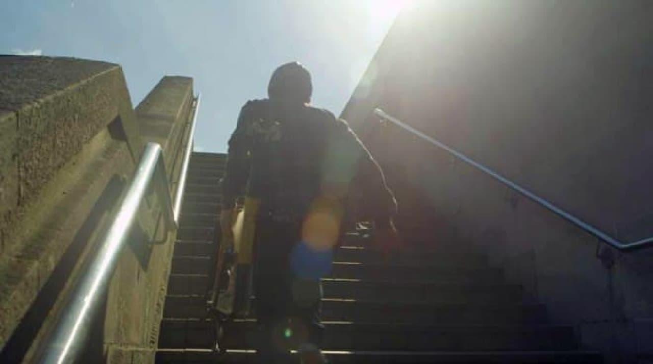 階段、楽勝!