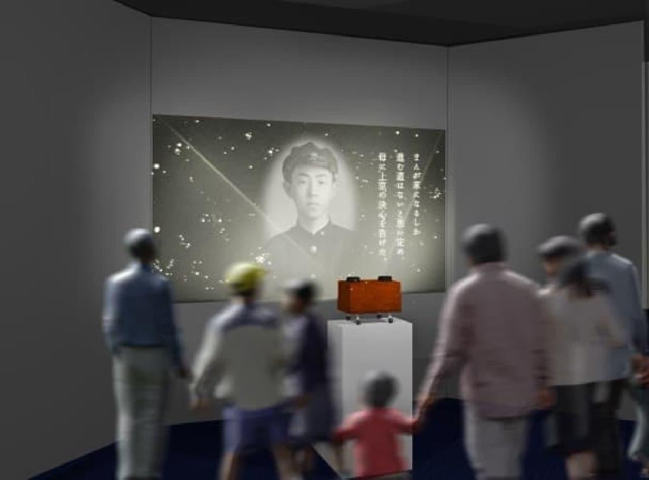 藤子・F・不二雄氏の手作り「幻燈機」を再現(※イメージ)