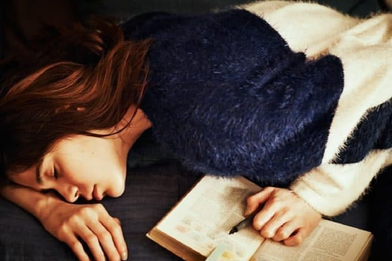 贅沢な冬の眠りを…