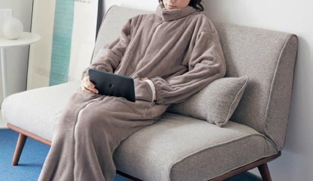 ベルメゾンの着る毛布がパワーアップ