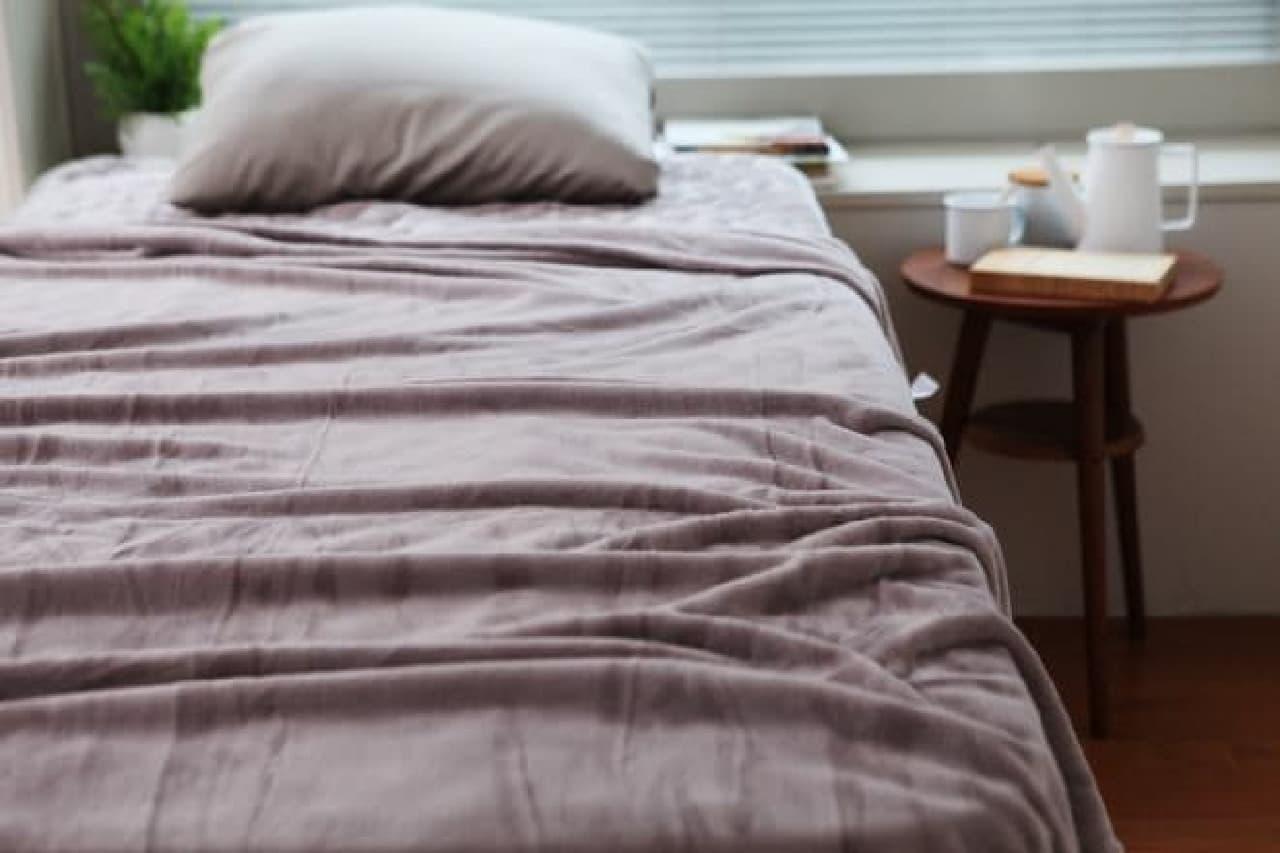 ベッドの中が一番居心地の良い場所に