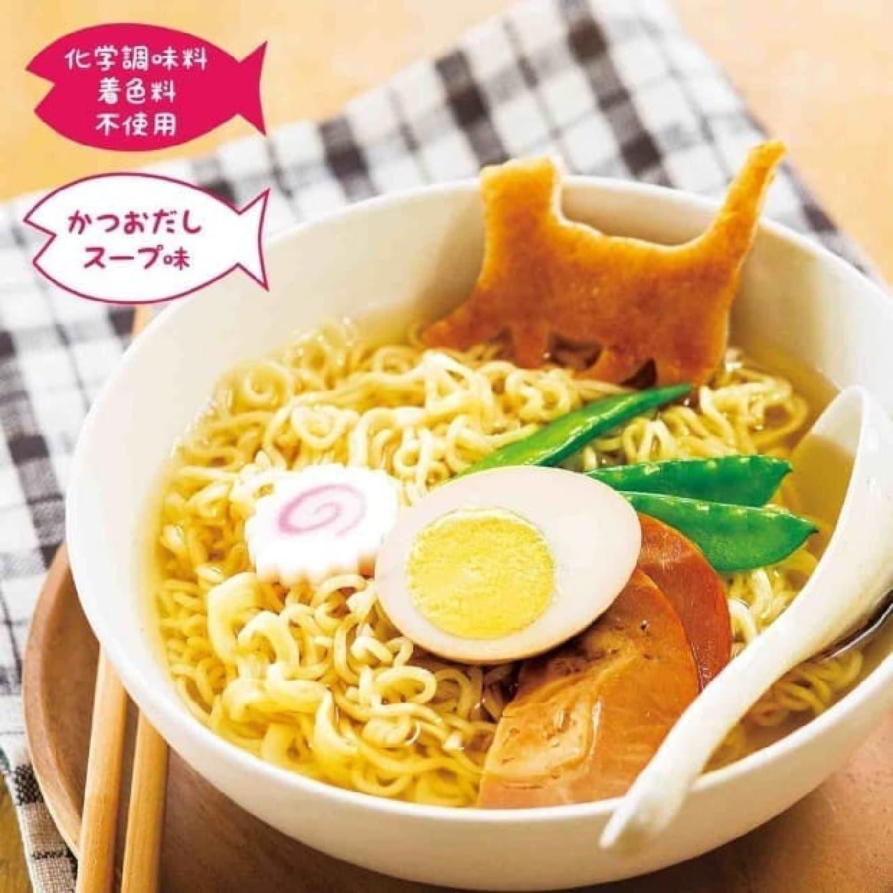 ネコ好き用ラーメン「にゃーん麺」の通信販売開始!