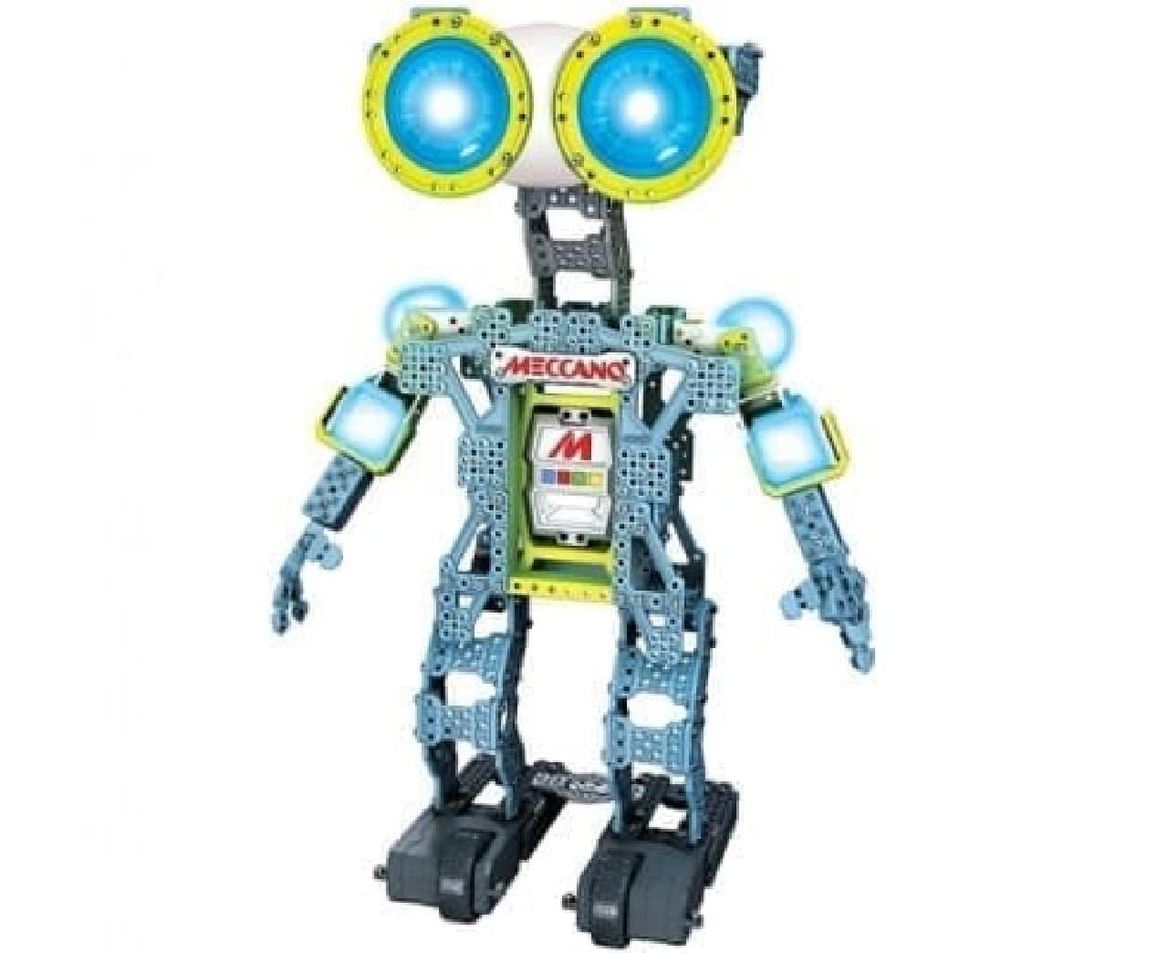 組み立て式ロボット「Meccanoid(メカノイド)」