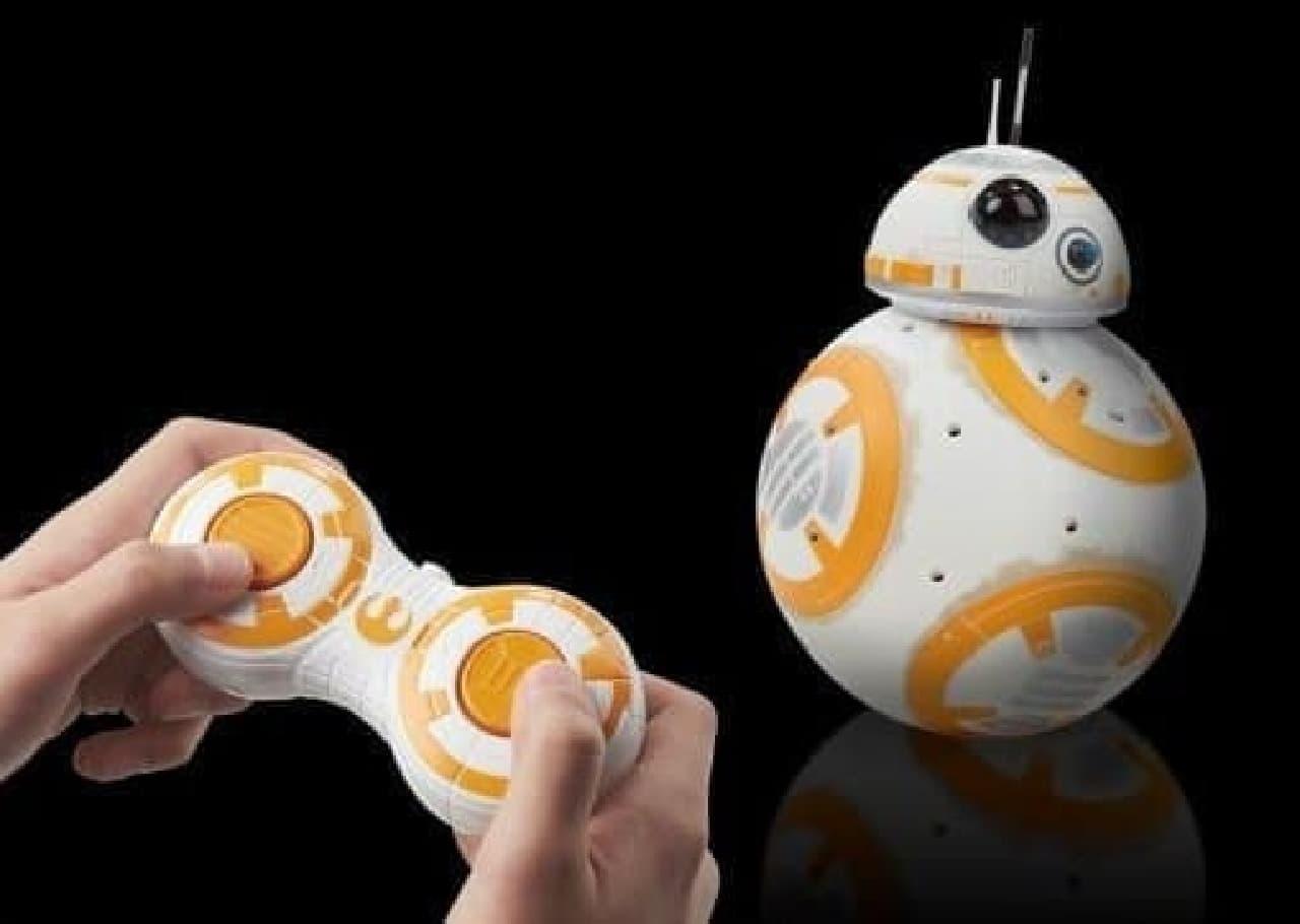 赤外線コントロールトイ「フォースの覚醒 リモートコントロール BB-8」販売開始