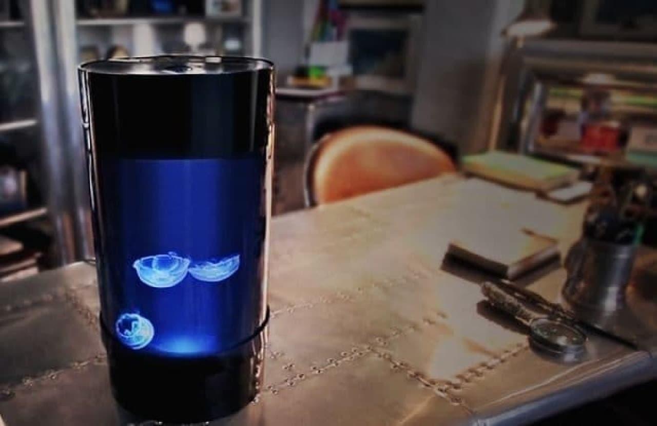 アップグレードされたクラゲ飼育キット「Jellyfish Cylinder Nano」
