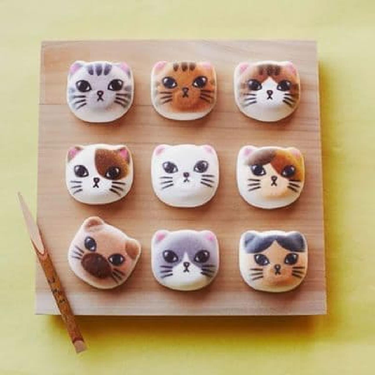 東京ソラマチ店限定商品:「ミニ和風ニャシュマロ(猫ほうずい)」