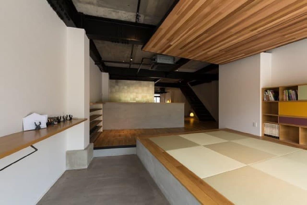 1階の畳スペース  若い女性に畳はどうだろう?