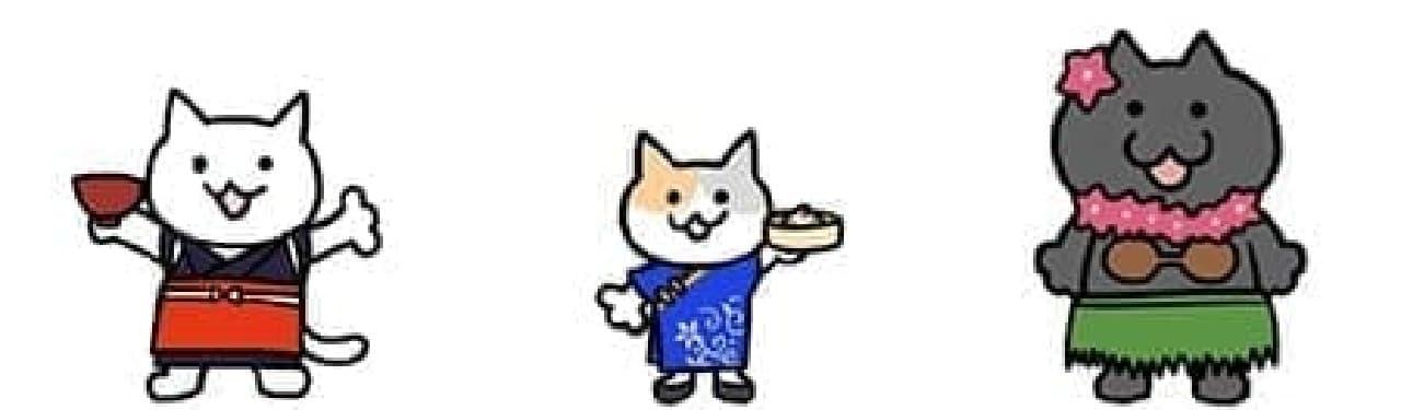 """47都道府県の""""ご当地ネコ""""を集めるニャ!"""