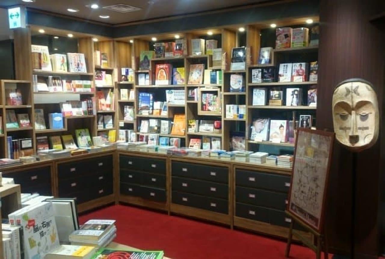 新しい三省堂書店が楽しそう