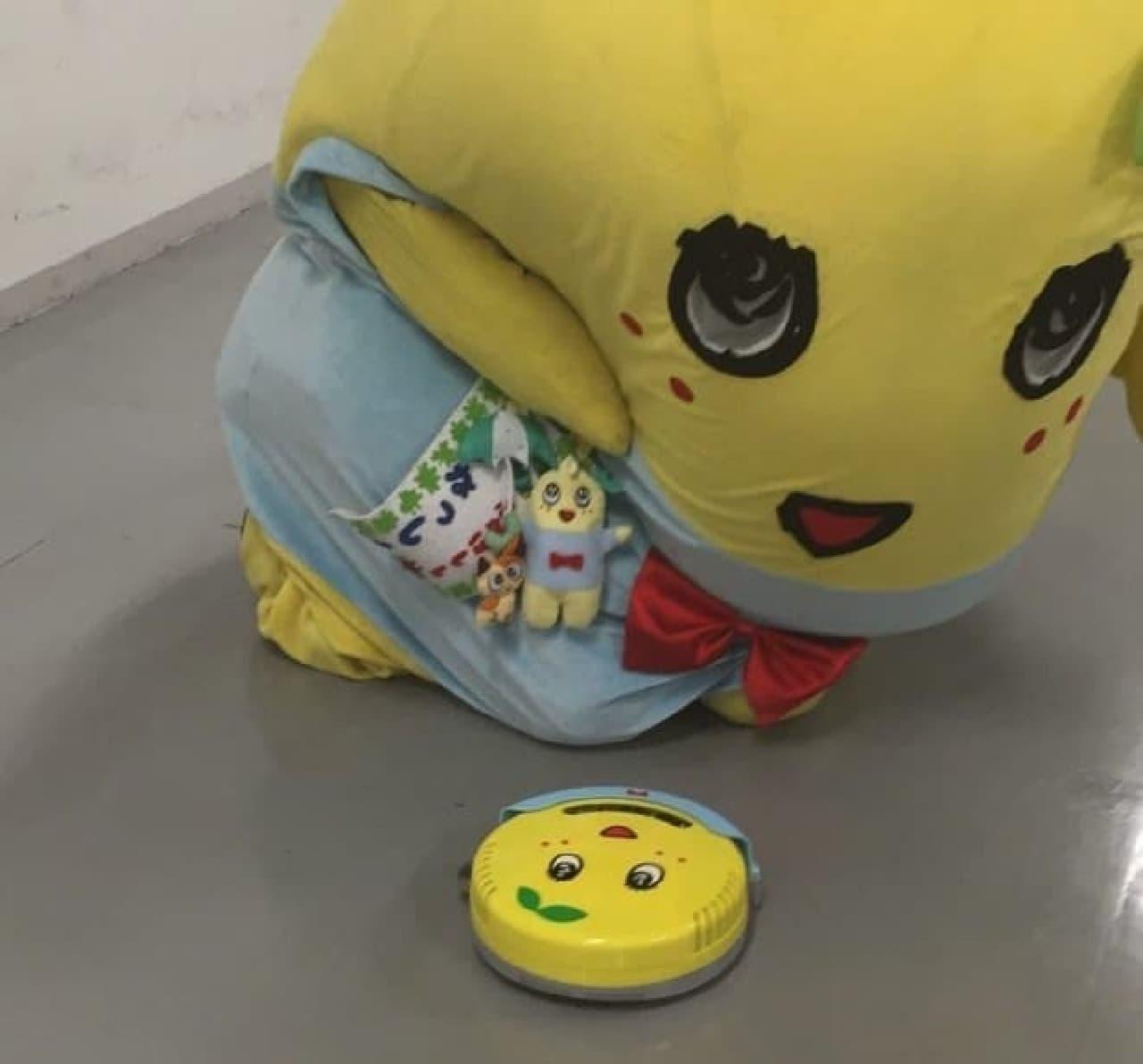 「まさかの商品化なっしな~!日テレサービス攻めるなっしなー!」(by ふなっしー)