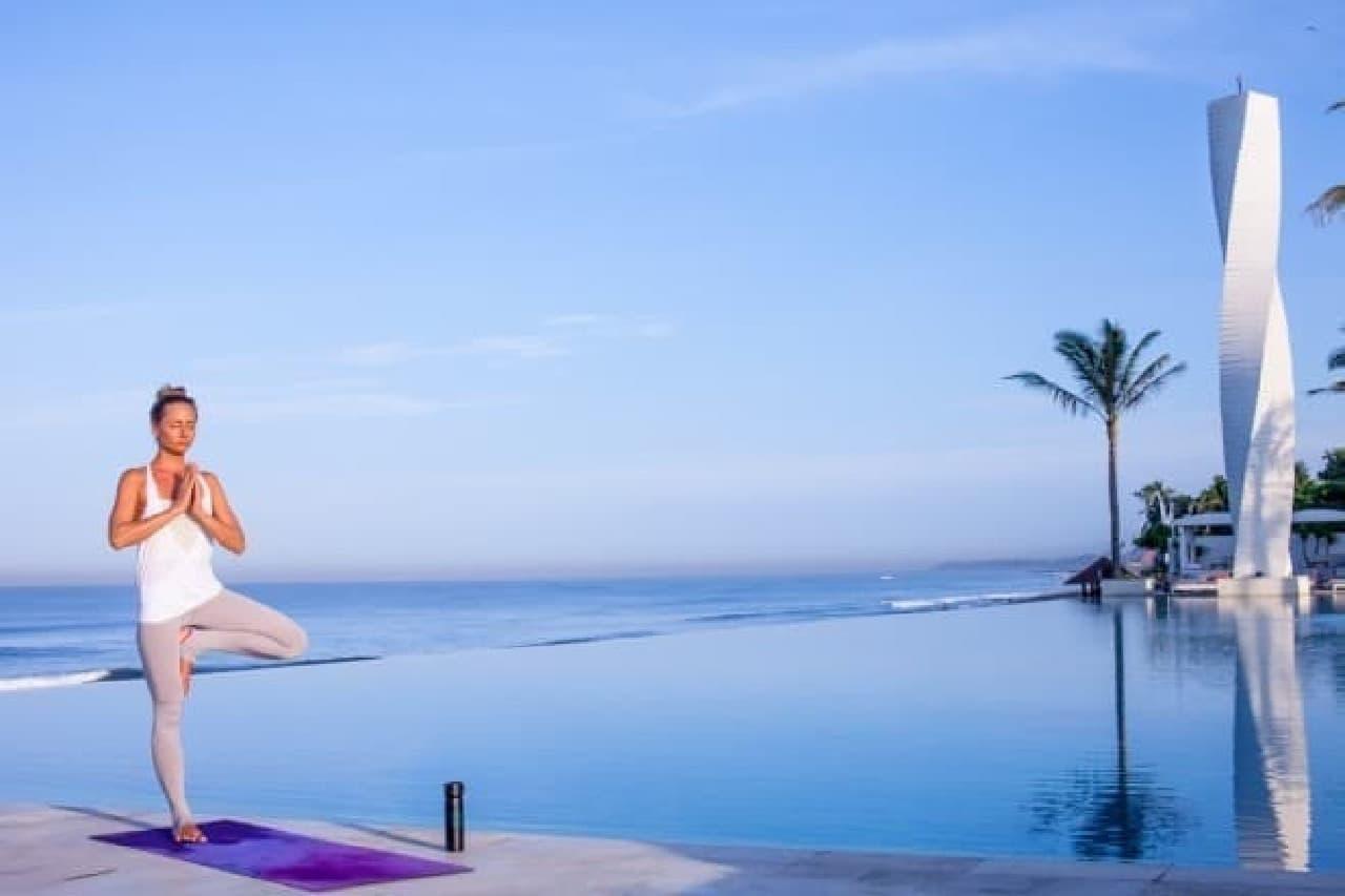 バリ島にインスピレーションを受けたデザインが魅力