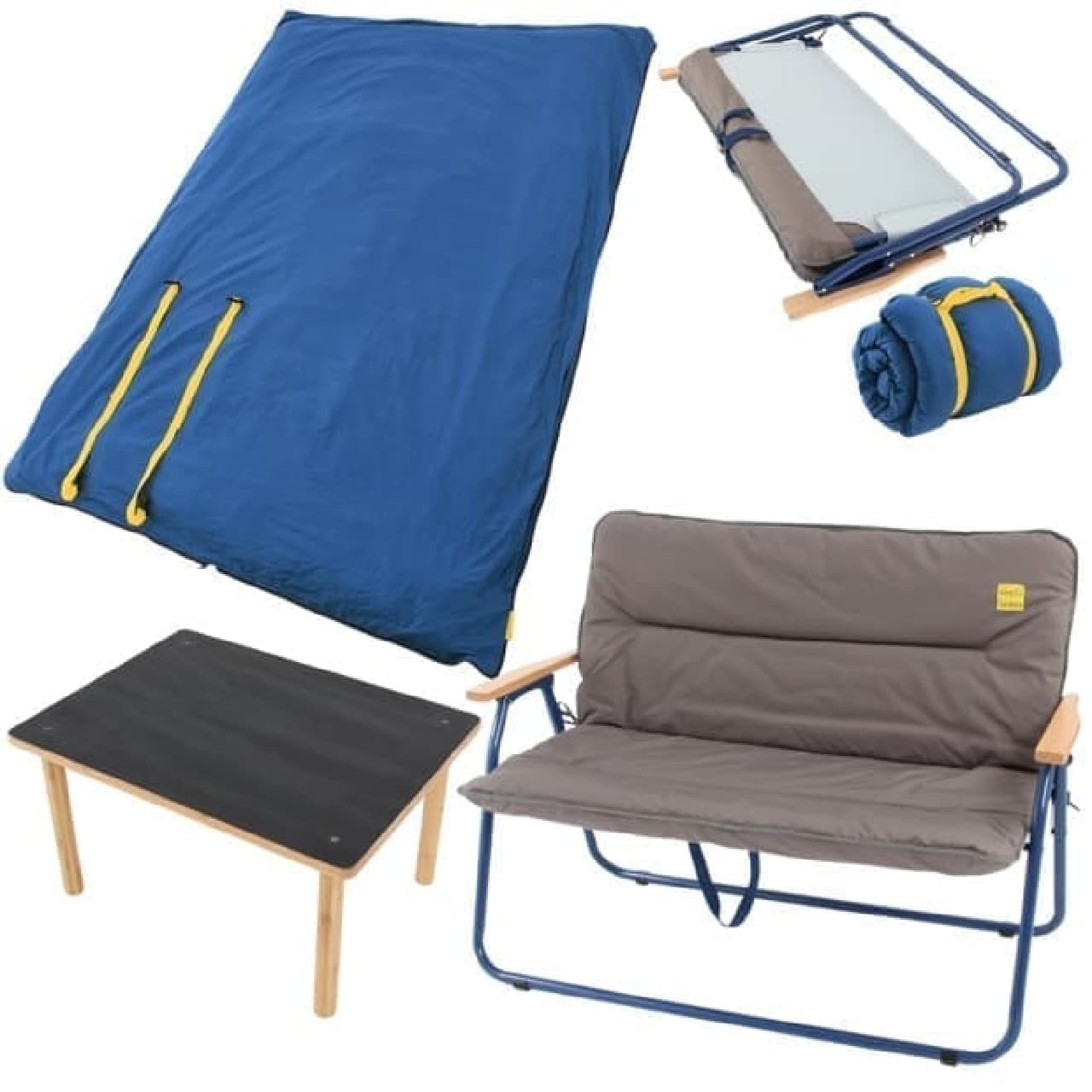 キャンプ用品による新生活応援セット「アウトドア新生活セット」