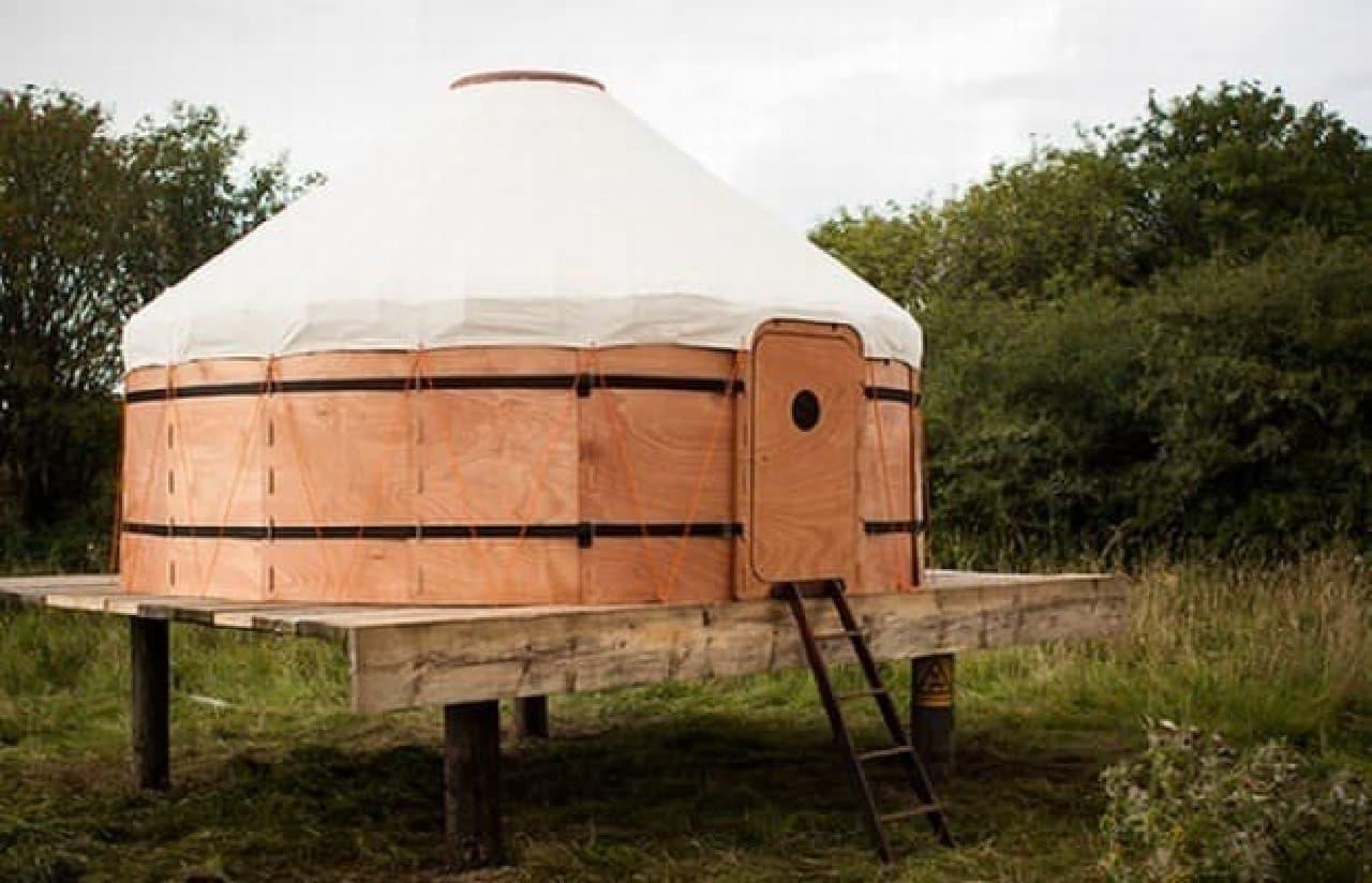 """参考画像:モンゴル遊牧民の住居""""ユルト""""をモチーフにしたテント「Jero」"""