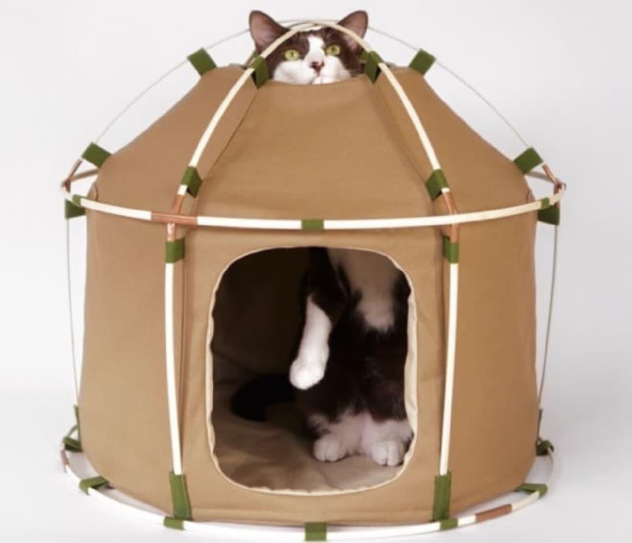 ペット用テント「#catstudyhouse theGIANT」