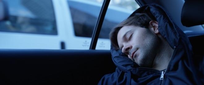 タクシーで短時間の休息を得られるようにデザインされた