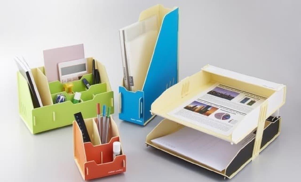 机上整理用品シリーズ「カラーユニッツ」発売