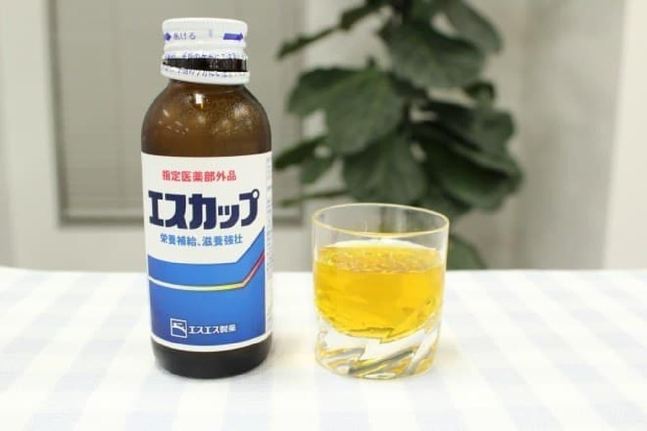 酸味と甘さのバランスがよく飲みやすい「エスカップ」