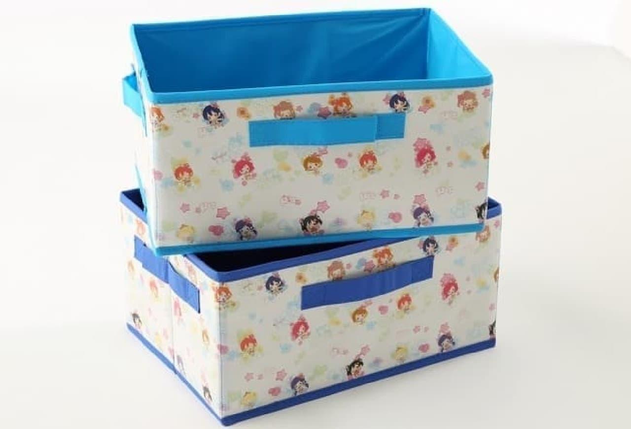収納BOX(各500円)