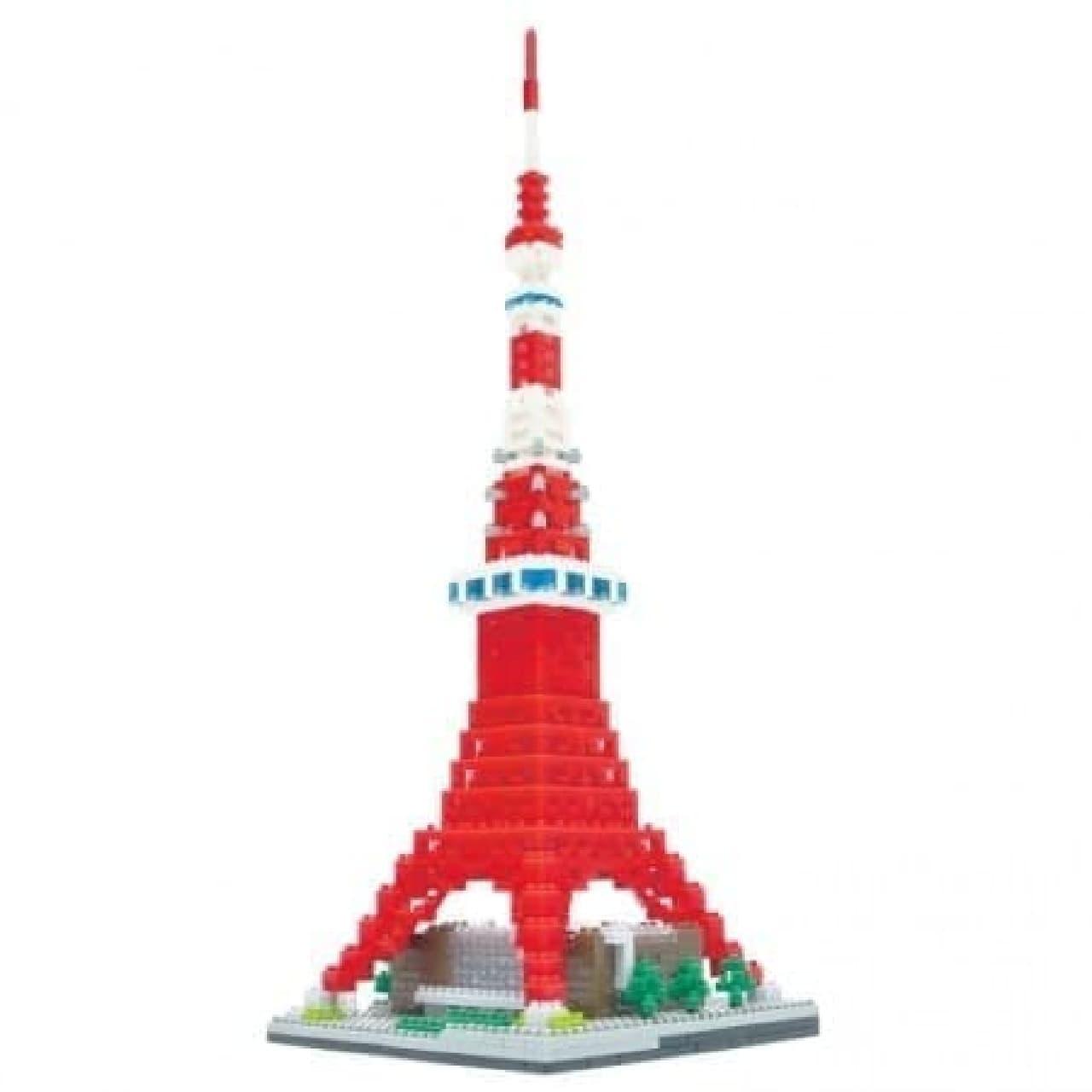 東京タワーデラックスエディション(1,420ピース、9,000円)  観光バスが2台追加された