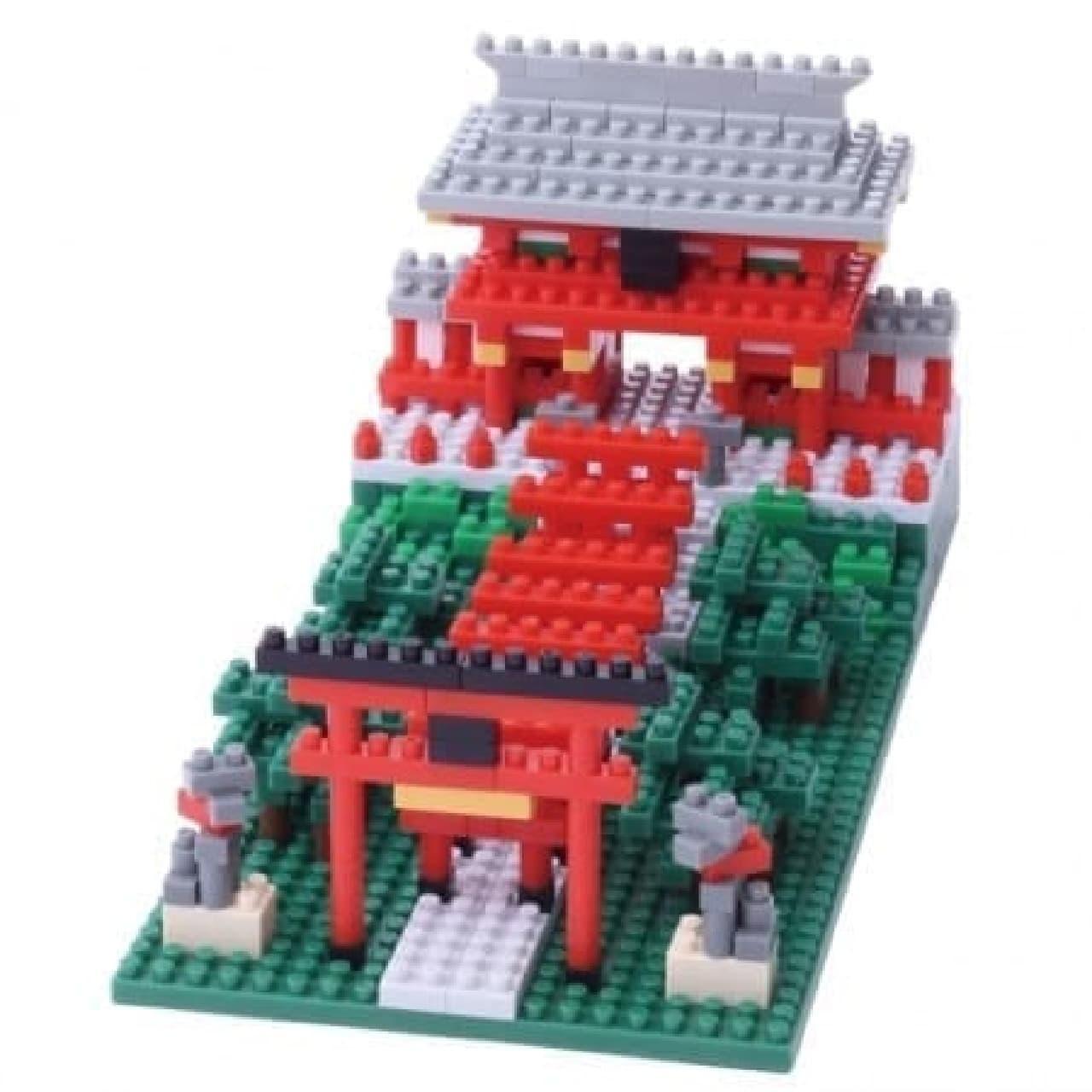 外国人の観光スポットとして人気急上昇の稲荷神社(530ピース、2,700円)