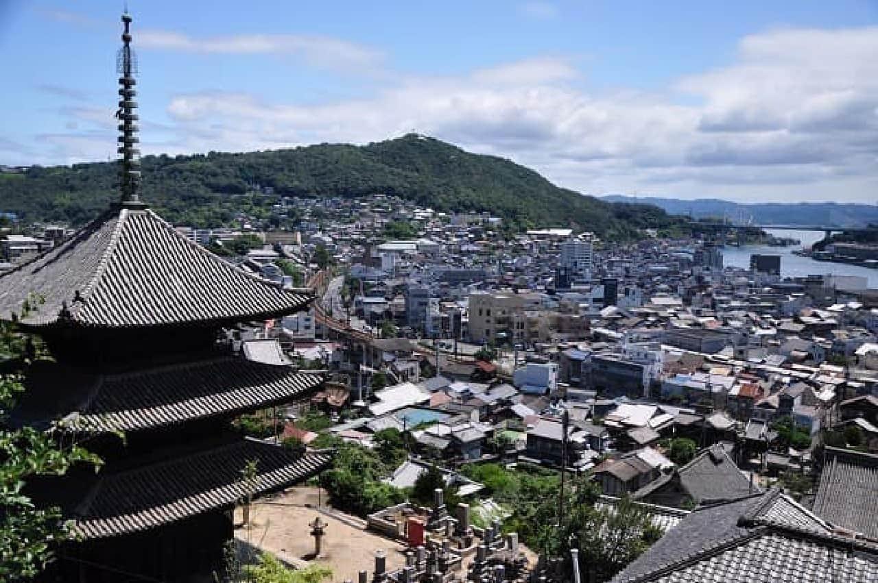 昨年「日本遺産」に登録された同市の箱庭的風景を満喫
