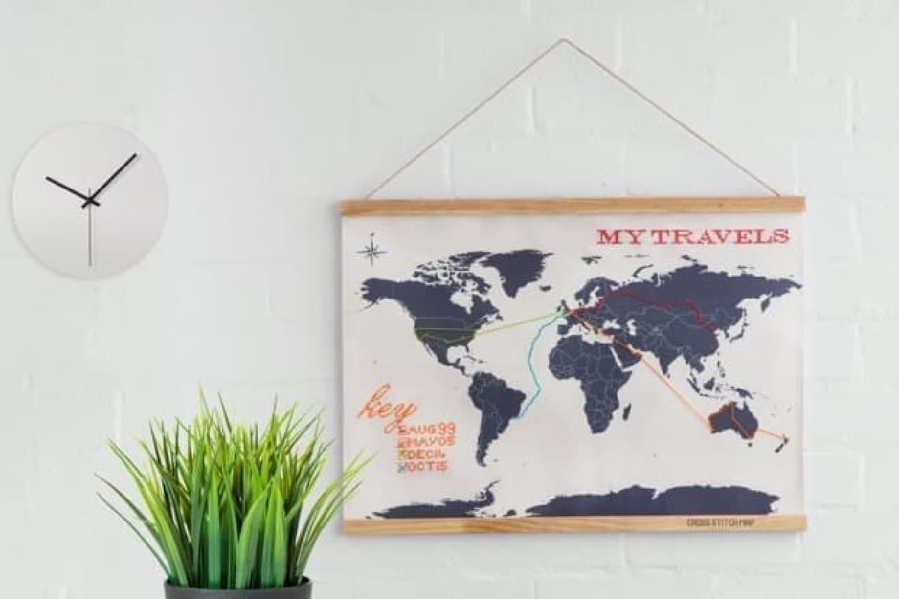 大陸が隠れるくらい旅したい!
