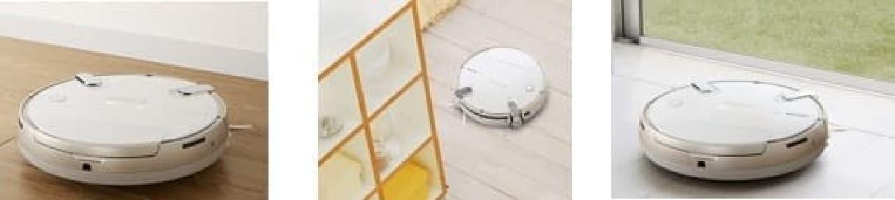 超音波センサーが家具やガラスを検知