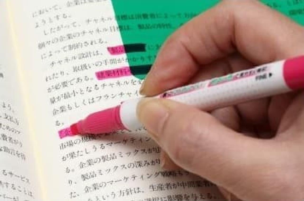 受験勉強の必需品・チェックペンシリーズが進化!