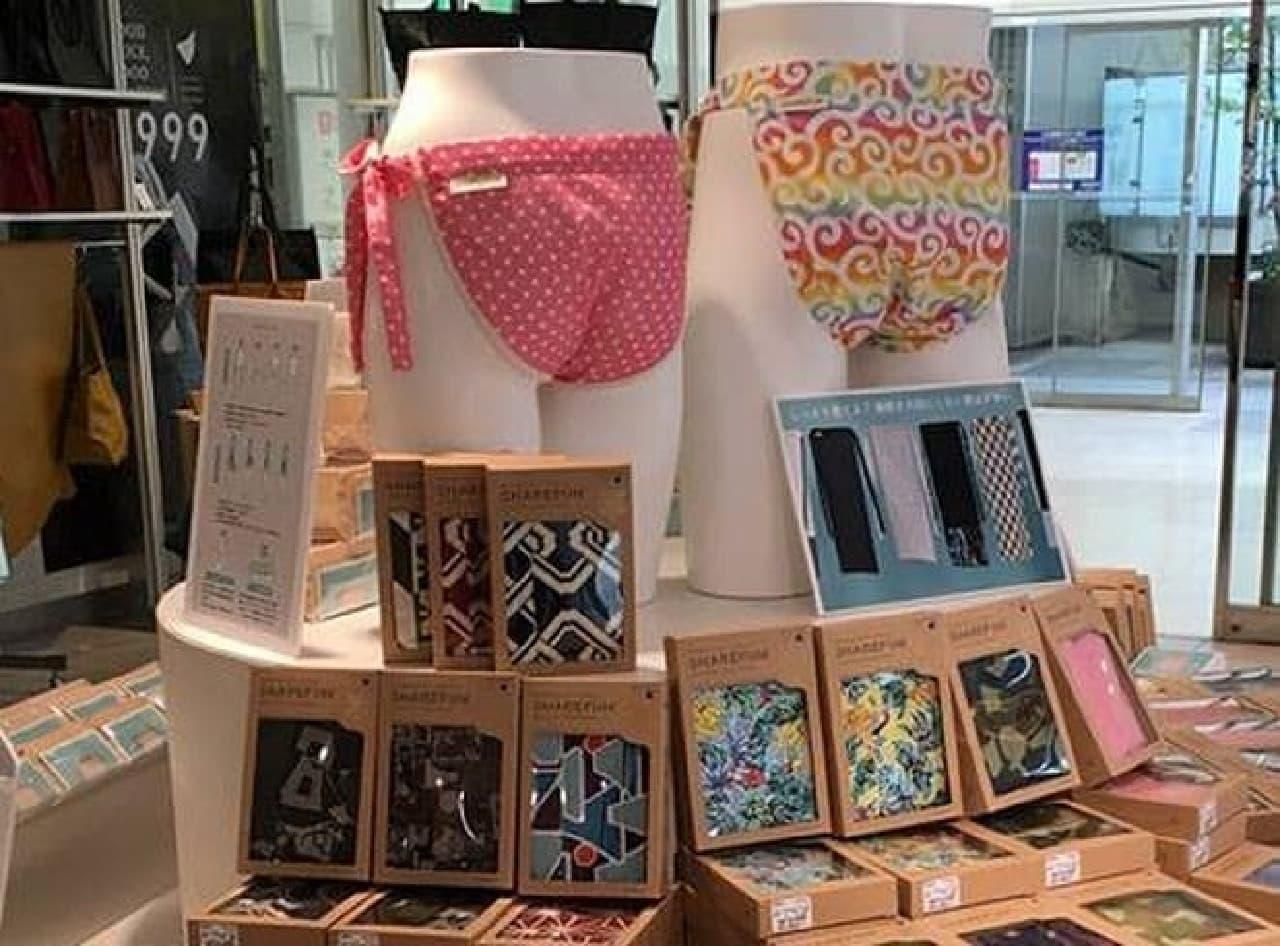 小田急百貨店新宿店で『ふんどしフェア』開催中  100種類以上のふんどしを手に取って選べる