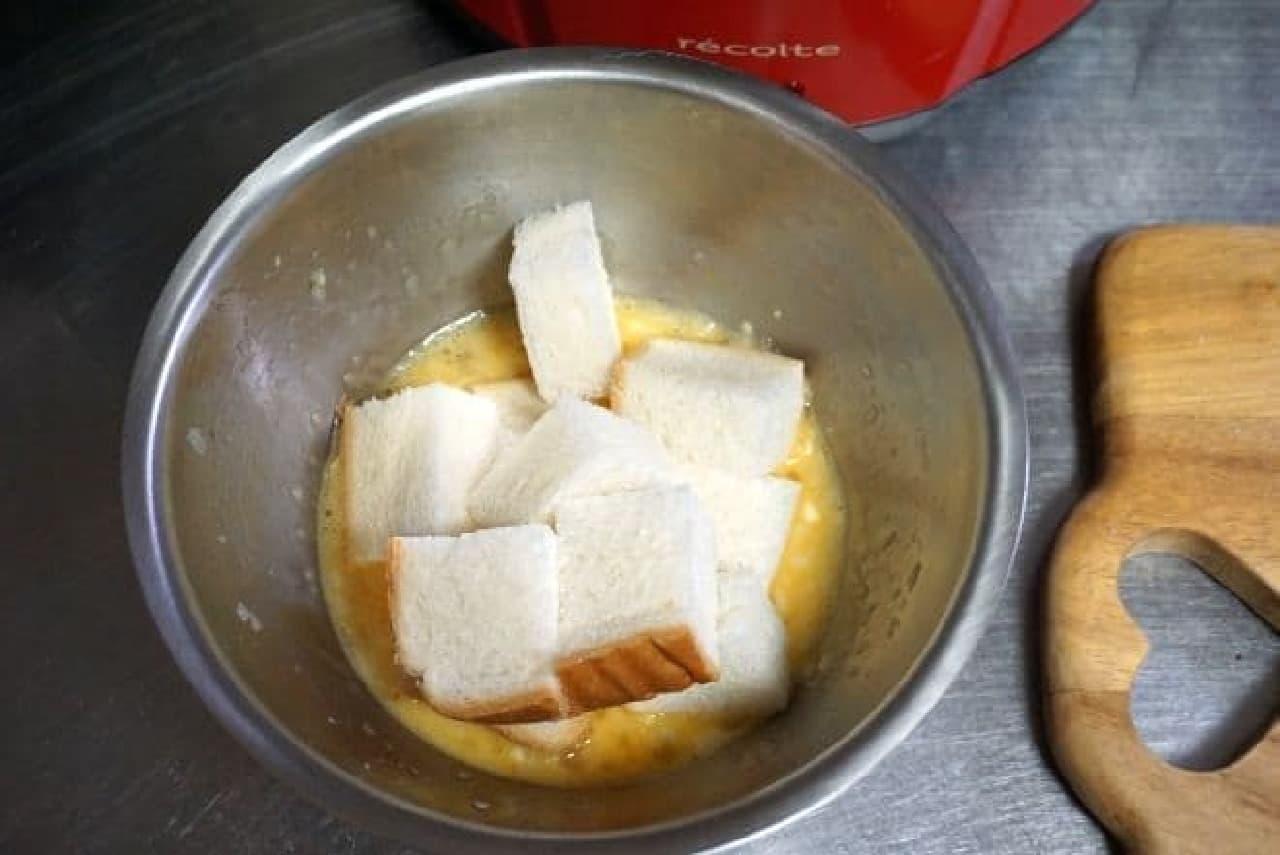食パンを使って