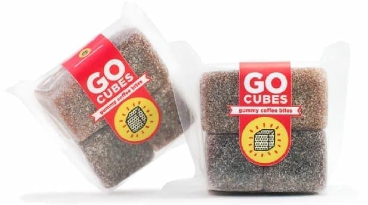 グミのように噛んで食べるコーヒー「Go CUBES」
