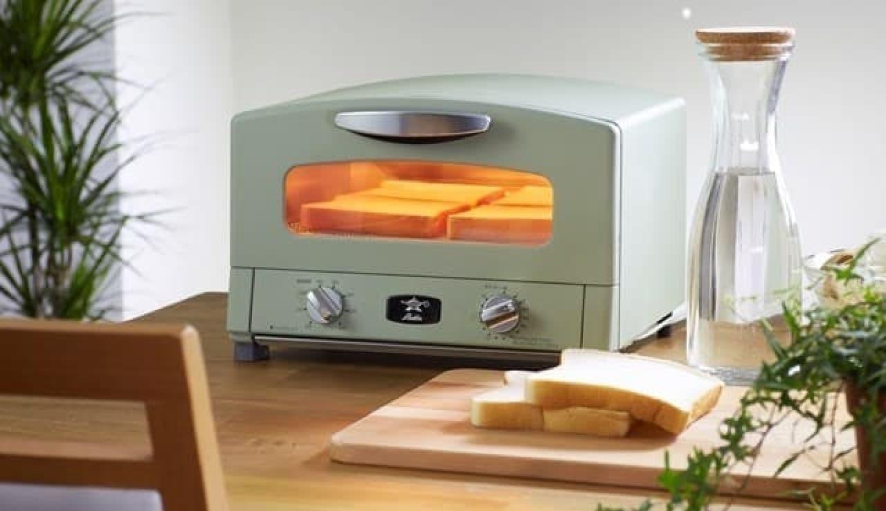 広めの庫内で様々な調理ができる「アラジン グラファイト グリル&トースター」  (出典:アラジン公式サイト)
