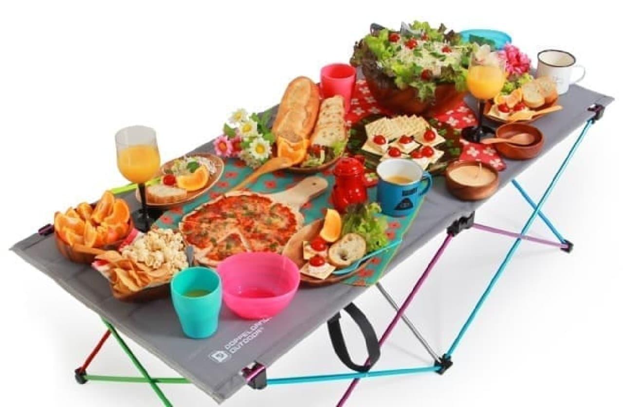 軽量で頼れるアウトドアテーブル