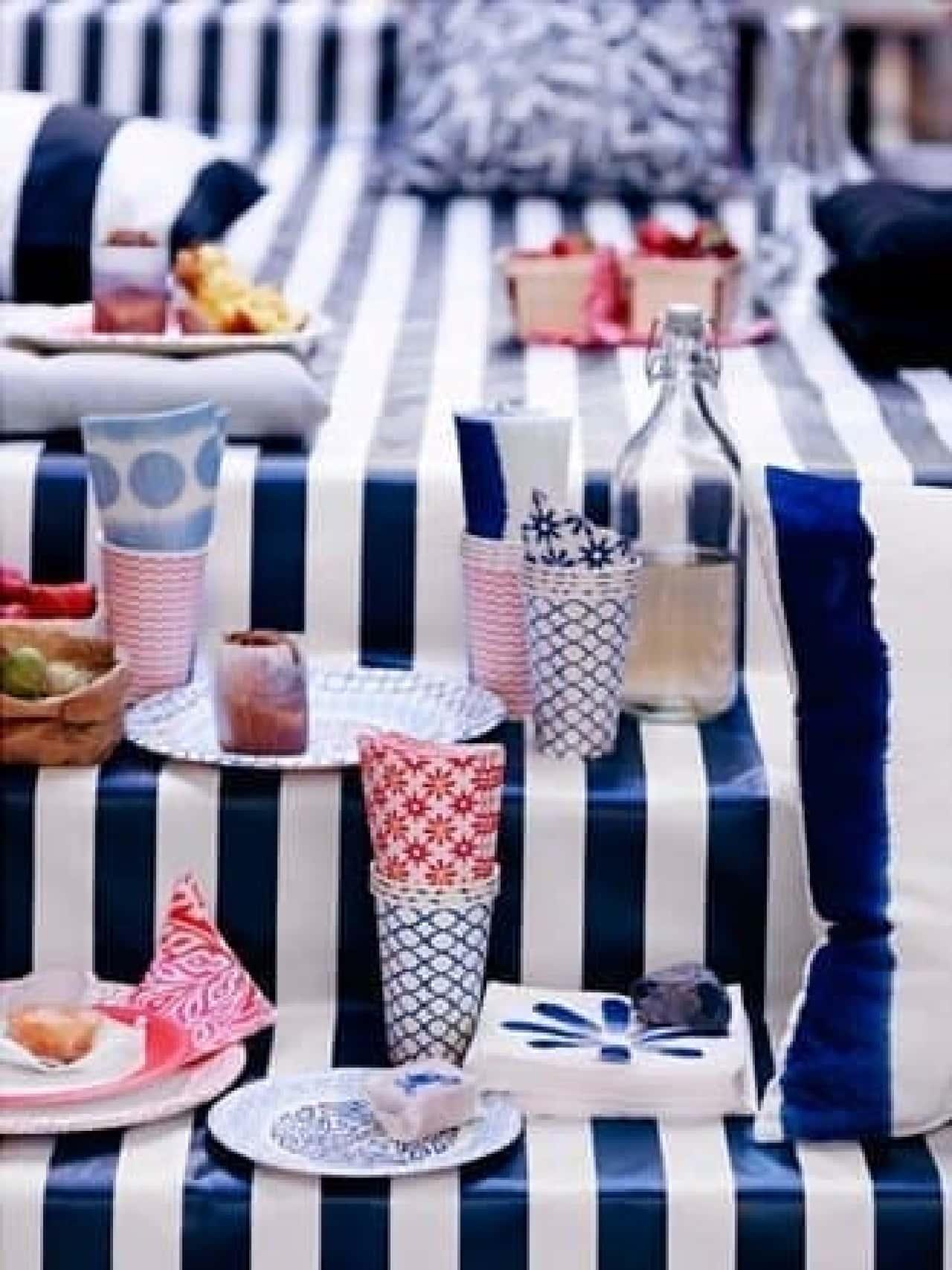 屋内外で大活躍の紙製食器