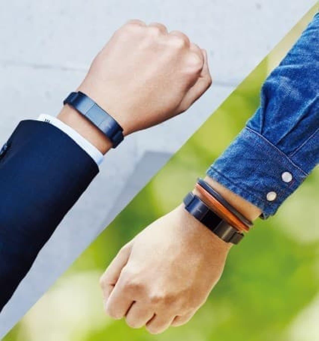 新モデルにはディスプレイが搭載され、時計としても使える